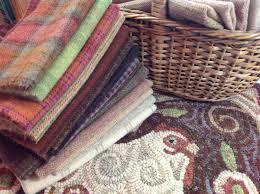 Chicken Rug Rug Hooking Wool Pack For Revised Spiral Chicken Primitive Rug