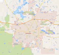 Florida City Map Tallahassee Florida Map