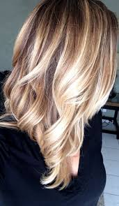 brown and blonde ombre with a line hair cut best 25 balayage straight ideas on pinterest balayage straight