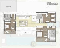 embassy floor plan embassy boulevard 4 u0026 5 bedroom villas yelahanka bangalore