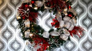 Decorating Christmas Wreaths by Decorating Christmas Wreaths Youtube