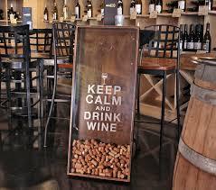 18x45 wine cork holder wall decor art keep calm u0026 drink wine