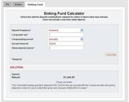 what is a sinking fund factor purpose and formula hubpages