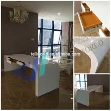 2016 high end office furniture modern seamless joint office desk