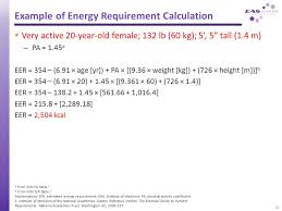 dietary reference intakes table nutrition and energy metabolism in exercise 1 energy for sport