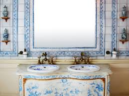 bathroom 31 hand painted bathroom tile design ideas my