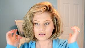 best hair to use for a bob big hair tutorial rollers in hair
