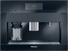 "Pureline Obsidian Black 24"" Whole Bean Coffee System Plumbed"