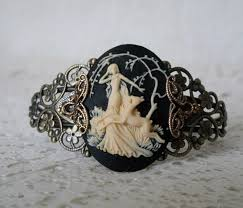 wiccan engagement rings goddess diana cuff bracelet wiccan jewelry pagan jewelry
