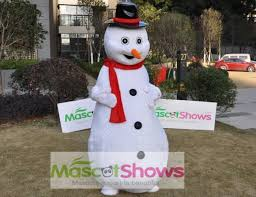 Christmas Tree Costume For Kids - sale christmas snowman mascot costume for halloween or