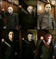 Michael Myers Mask All Of My Michael Myers Masks By Rising Darkness Cos On Deviantart