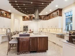 stunning kitchen ceiling treatment faux wood workshop