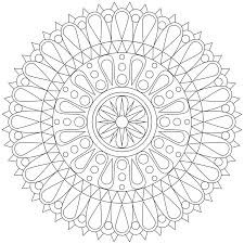 mandala coloring pages to print mandalas print