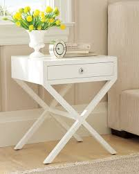 White Bedside Table White Bedside Table Inoutinterior