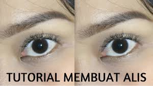 tutorial pakai pensil alis tutorial alis eyebrow tutorial pakai pensil alis maybelline