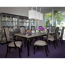 7 119 00 after eight 10 pc rectangular dining set by michael