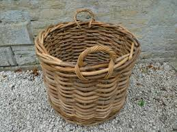 Rattan Baskets by Objects Of Design 308 Large Rattan Basket Mad About The House