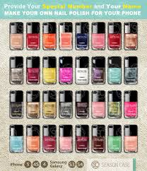 80 kinds iphone case nail polish girly make up case for iphone