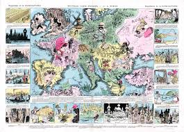 Map Of Europe 1942 by Europe Satirical Maps Zoom Maps