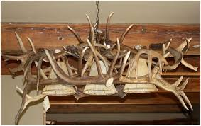 How To Make Deer Antler Chandelier Unique Antler Chandeliers In Northwest Montana
