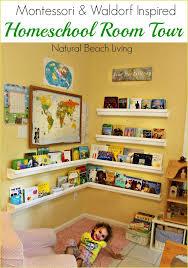 montessori u0026 waldorf inspired homeschool room natural materials