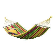 shop byer of maine amazonas aruba vanilla yellow fabric hammock at