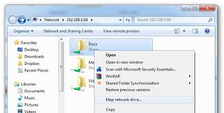 use map drive how to use offline files in windows to cache your networked files