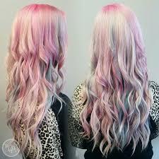 rainbow color hair ideas rainbow hair ideas for valentine s day popsugar beauty