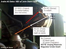 30 alternator for a john deere 1020 matt francis