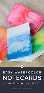 painting greeting cards in watercolor diy watercolor greeting cards wandeleur