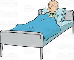 Man Sleeping In Bed Guy Sleeping In Bed Clipart Clipartxtras
