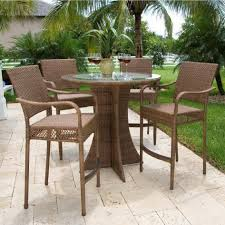 Patio High Dining Set Table And Chair Set Table And Chairs Dining