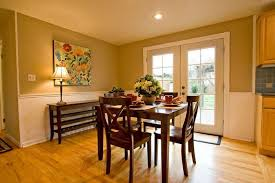 gorgeous dining room paint ideas with chair rail with best chair