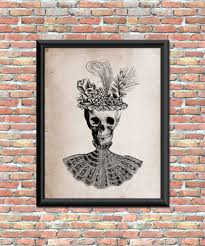 contemporary halloween art for tasteful holiday decor