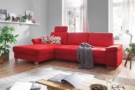 Wohnzimmer Einrichten Poco Poco Polstermöbel Puzzle Ecksofa In Rot Möbel Letz Ihr Online Shop