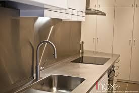 plan de travail cuisine inox sur mesure inox fr tous les éléments de cuisine