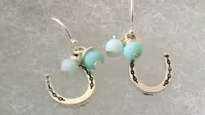 lucky horseshoe gifts lucky horseshoe earrings lucky earrings jewelry