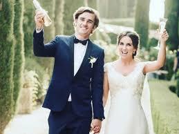 photo de mariage antoine griezmann les clichés de mariage avec erika closer