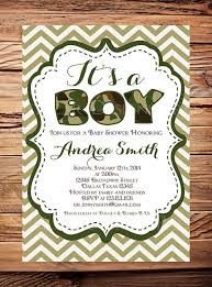 camouflage baby shower invitations u2013 gangcraft net