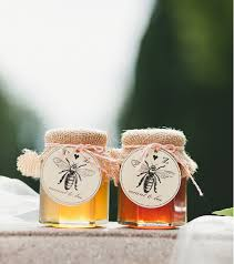 honey favors etsy find diy honey jar favors southern new weddings