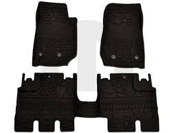 2014 jeep floor mats all weather slush mats 82213860 jeep jeeps