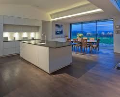cuisine ouverte moderne cuisine americaine avec ilot deco maison moderne