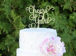 cheers to 50 years 50th birthday cake topper dirty 50 cake