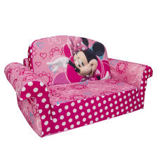 Mickey Mouse Sofa Bed by Marshmallow Furniture Children U0027s 2 In 1 Flip Open Foam Sofa