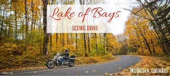Scenic Route Map by Scenic Drive Lake Of Bays
