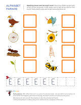 letter e worksheets sparks