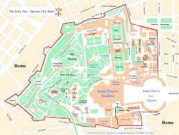Map Rome Map Rome Vatican City Map