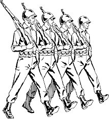 marching clipart