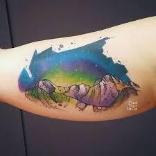 mountain tattoos u0026 top mountain range and scene design ideas 2018