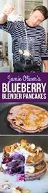 blueberry pancake recipe here u0027s how jamie oliver turns a healthy smoothie into pancakes